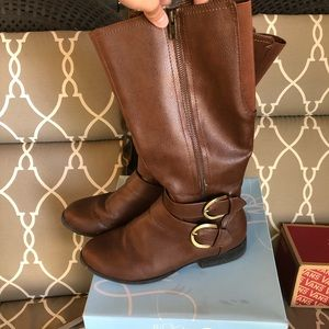 Shoes - Brown women's tall fashion boots